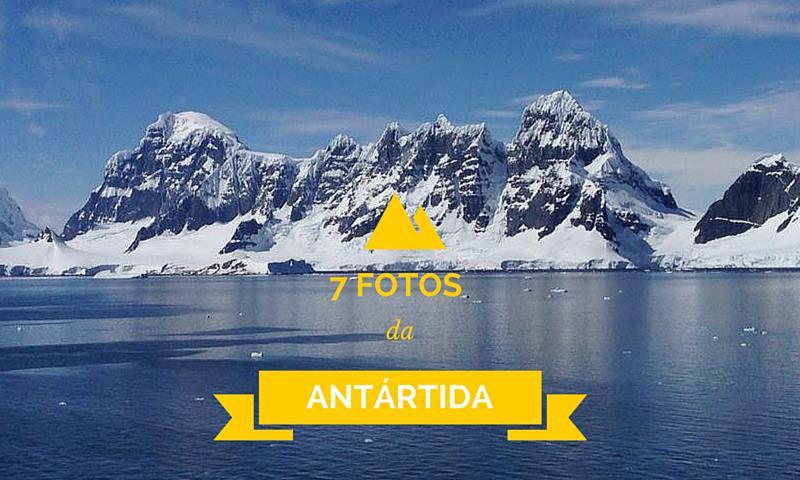 Fotos da Antártida pra Refrescar seu Dia