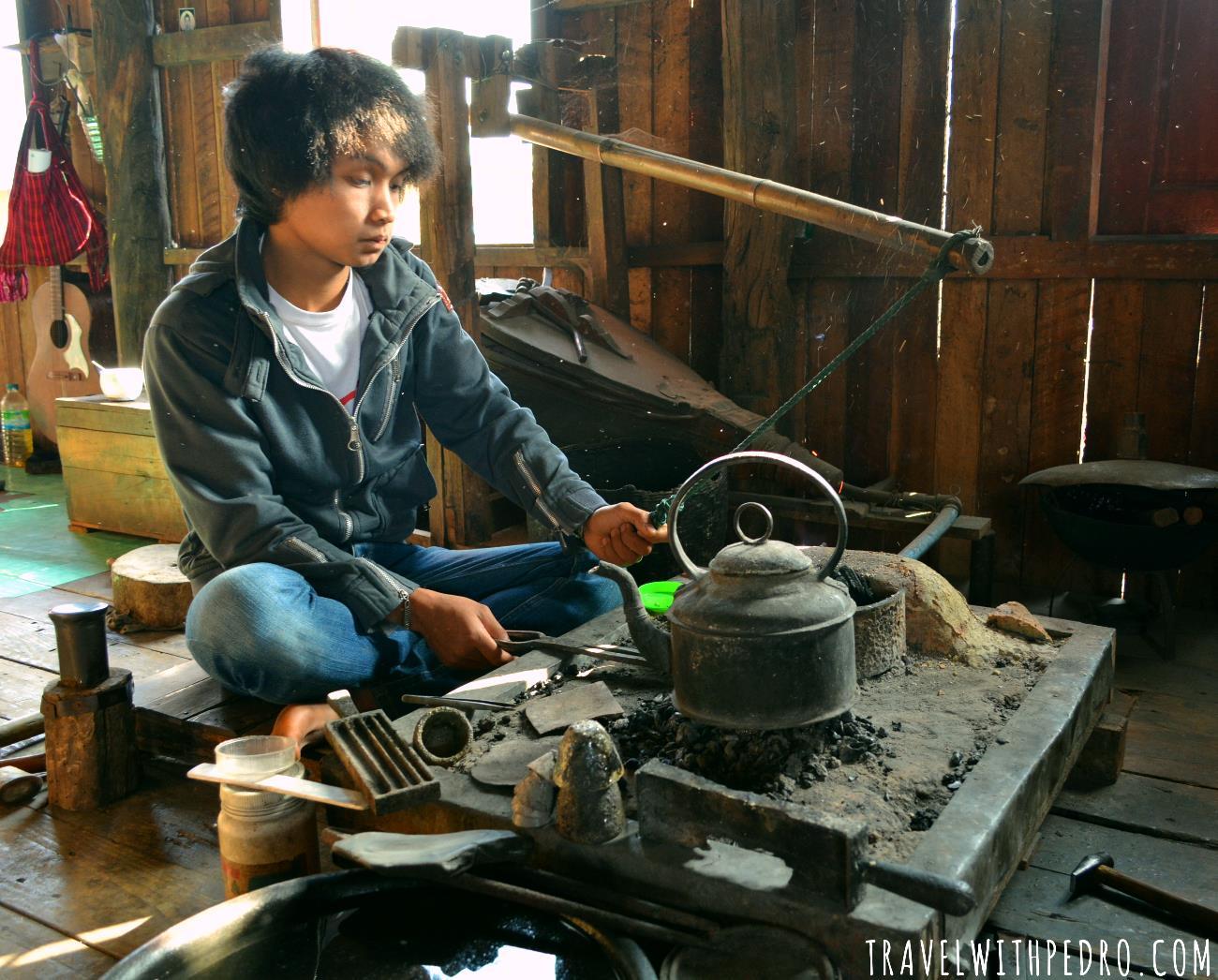 Povo de Myanmar: Mulher Padaung