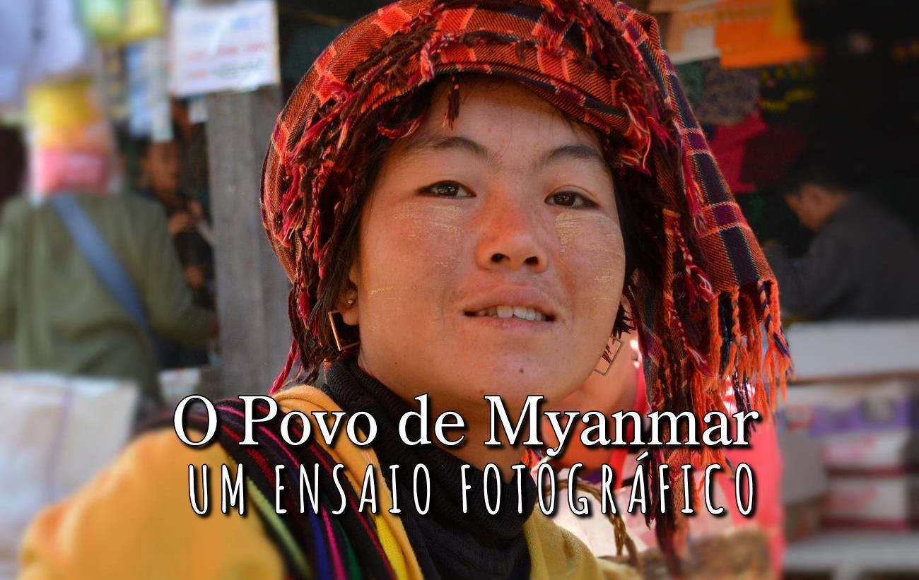 Povo de Myanmar: Visitando os Templos de Mingun