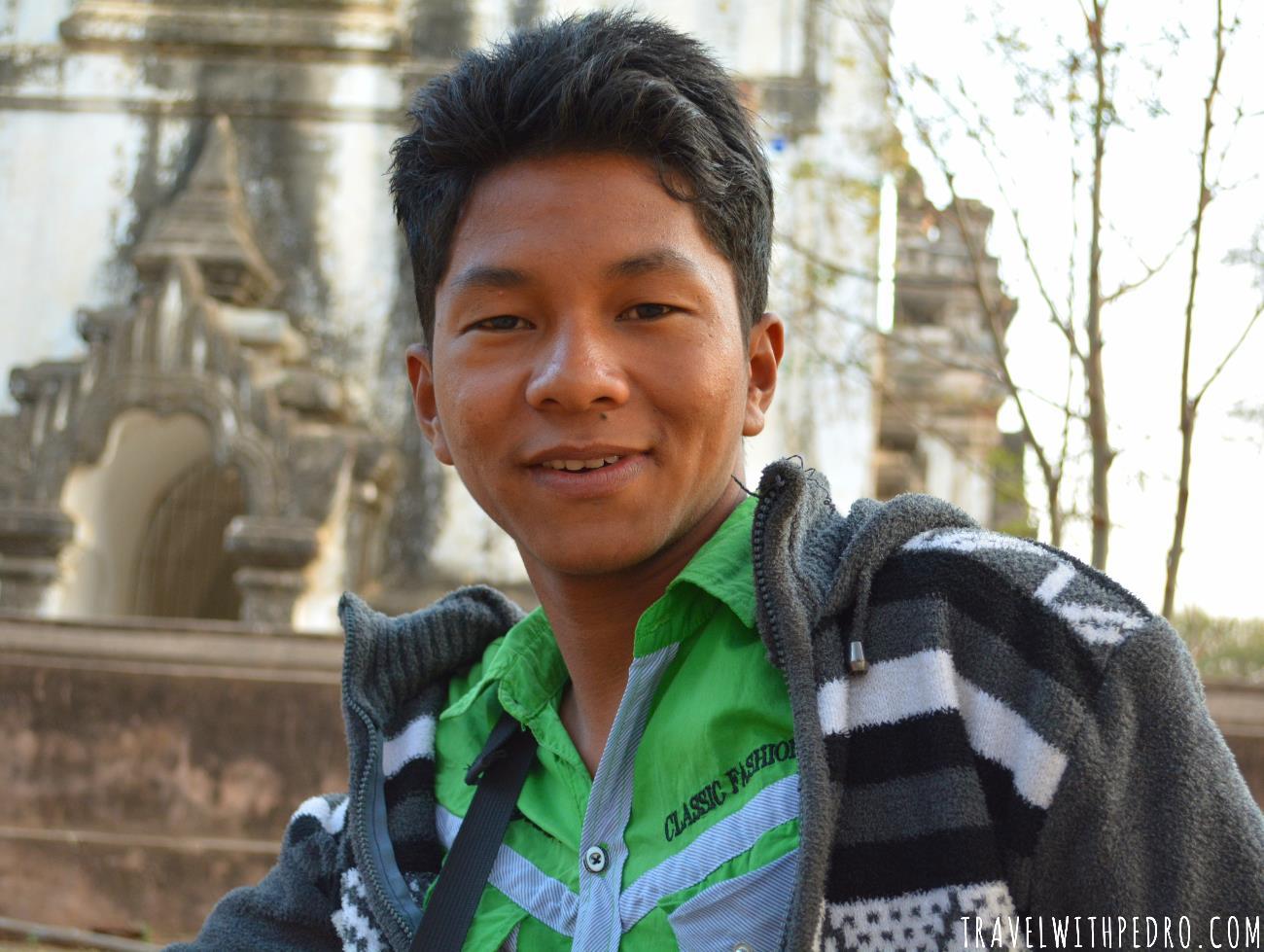 Povo de Myanmar: o pintor de Bagan