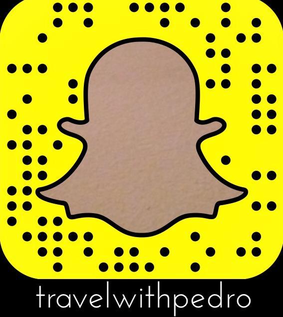 Viaje comigo pelo Snapchat