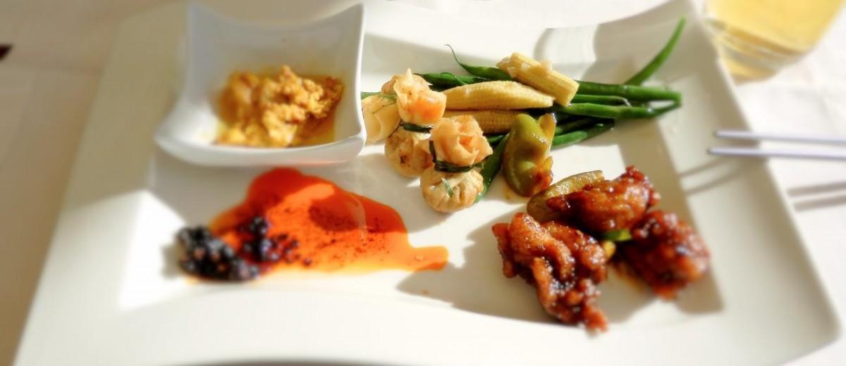 Almoço no Jumeirah Beach Hotel, Dubai