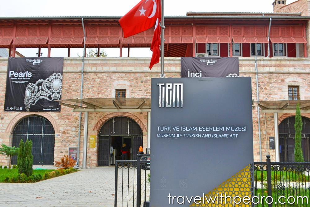 Museu de Arte Turca e Islamica em Istambul