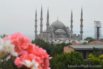 Visitando a Mesquita Azul em Istambul