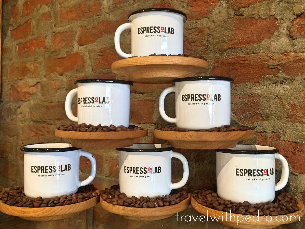 Cafés Charmosos Mundo Afora - EspressoLab Istambul