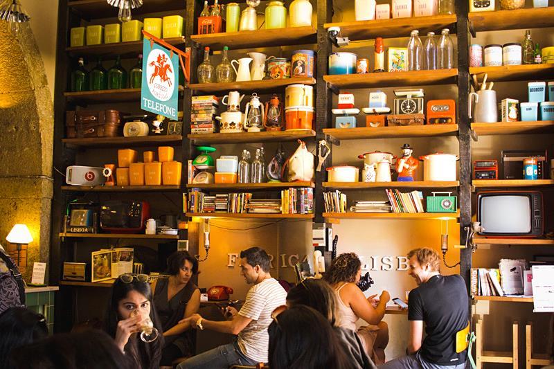 Cafés Charmosos Mundo Afora - Fábrica Lisboa