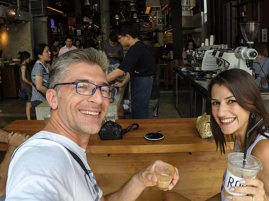 Melhores Cafés do Mundo - Roots Coffee, Bangkok