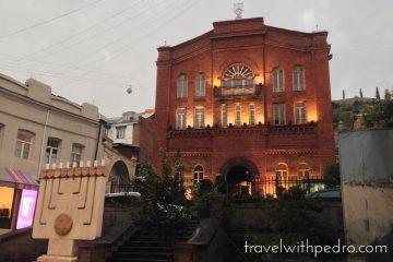 A Grande Sinagoga de Tbilisi, Geórgia