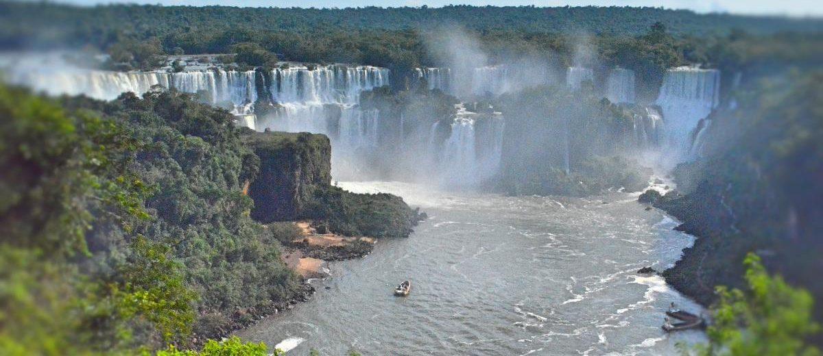 Passeio de Helicóptero sobre as Cataratas do Iguaçu
