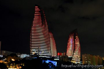 Minha Estadia no Fairmont Baku Flame Towers
