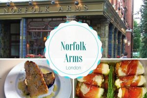 where to eat in London Norfork Arms