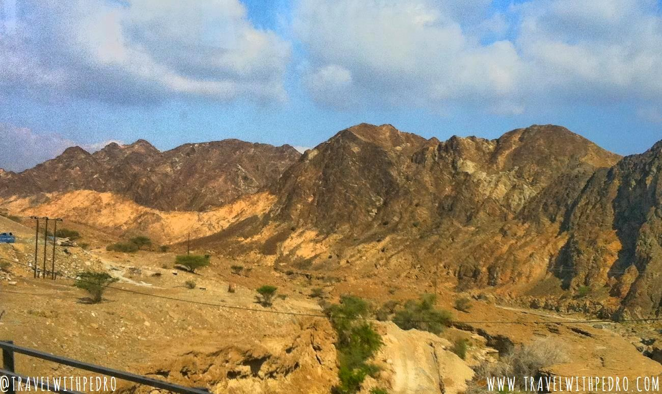 Travelling by bus from Muscat to Dubai