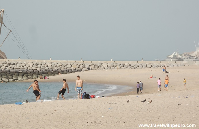 Beach In Kuwait City