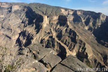 How to get to Omani Grand Canyon and Jebel Shams