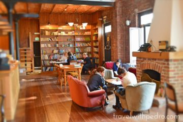 Turk Alman Kitabevi Cafe Istanbul