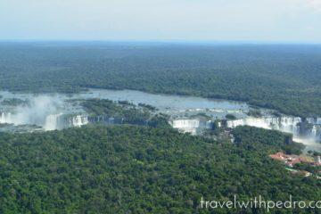A Helicopter Flight Over Iguazu Falls
