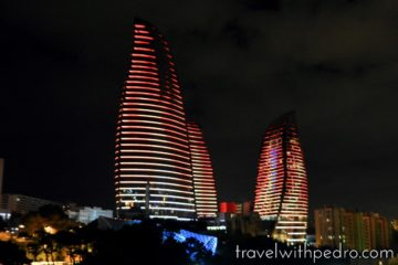 Stay at Fairmont Baku Flame Towers